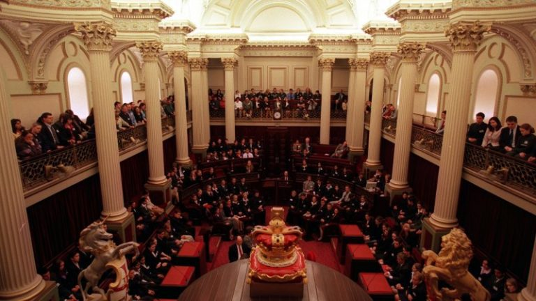 Victorian Parliament Spring St
