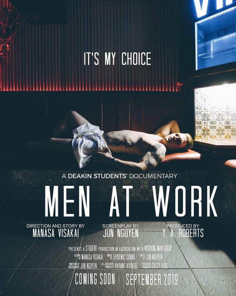 Men at Work, Gay Sex Worker Australia